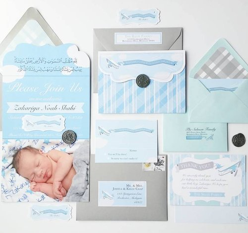 custom shower baptism or other baby event cordial punch press