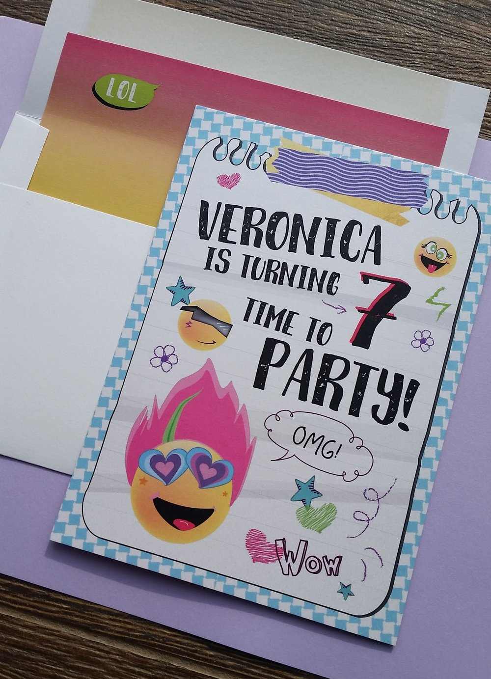 CUSTOM BIRTHDAY PARTY INVITATIONS Cordial Punch Press