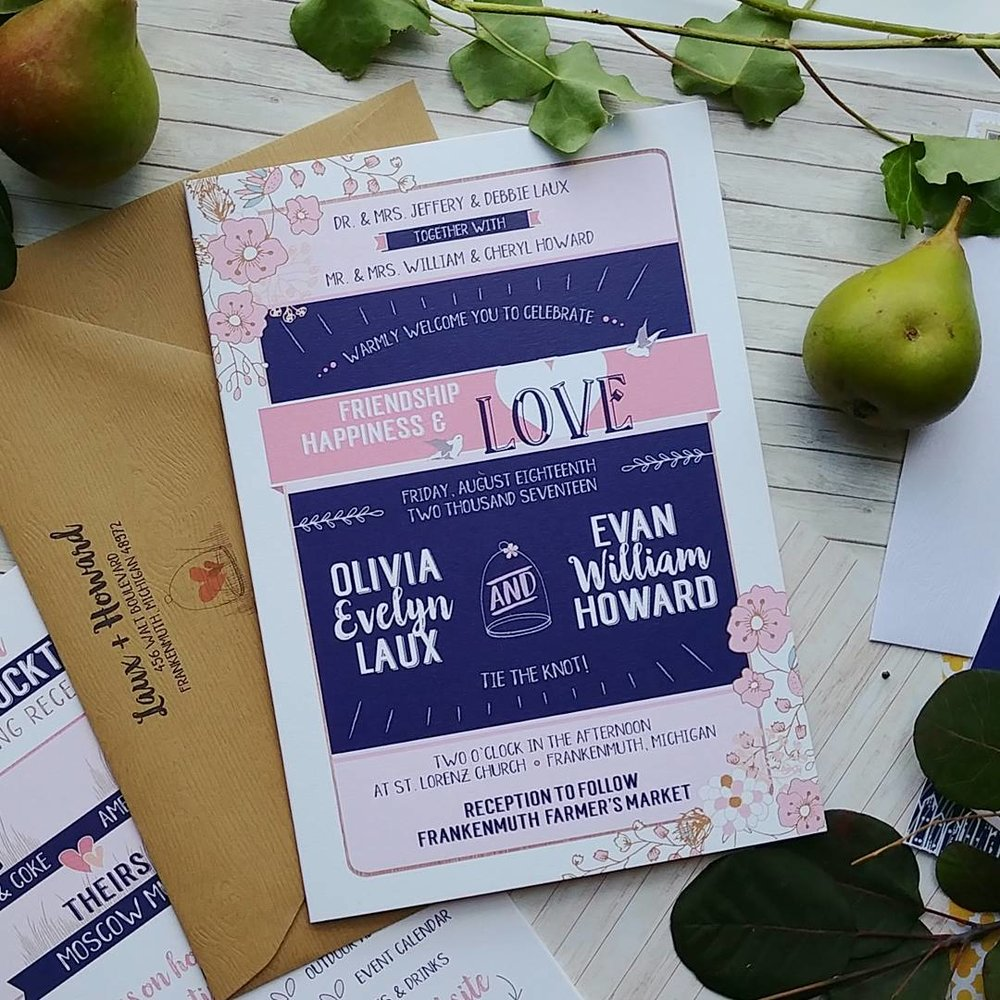 Navy & Peach Booklet Downtown Market Wedding Invitation Suite (13).jpg