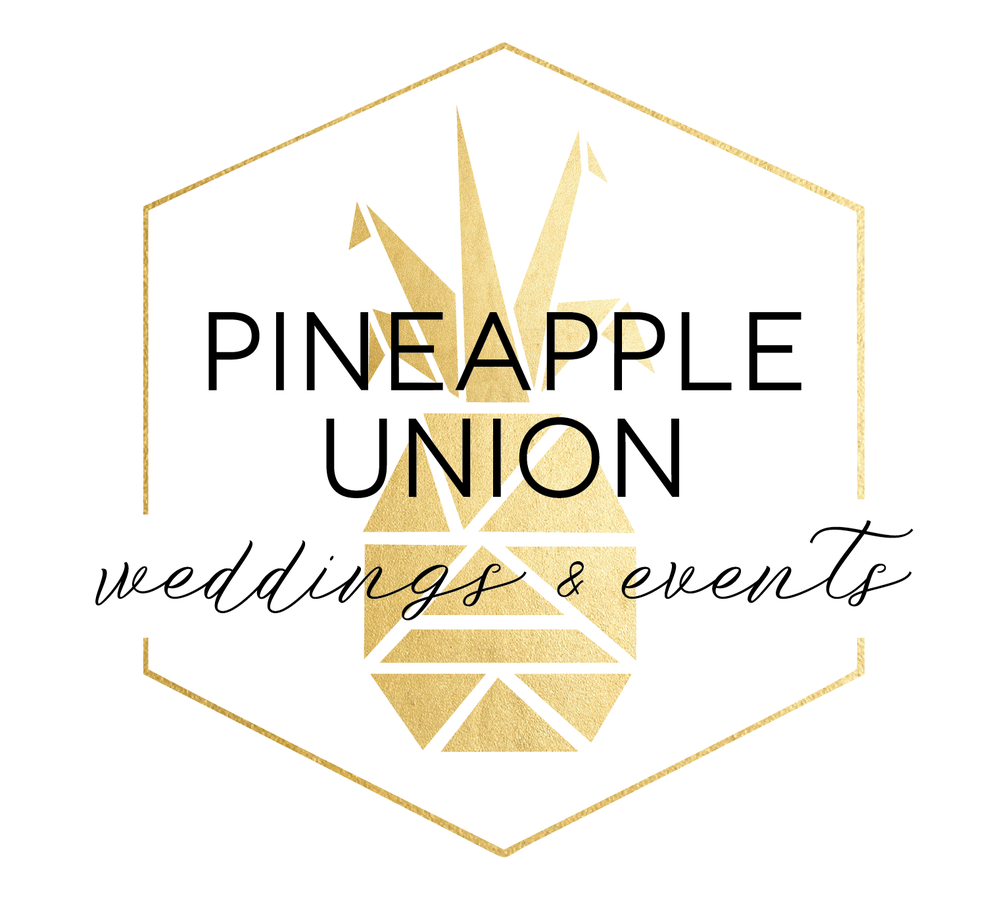 Final Design for Pineapple Union Weddings & Events