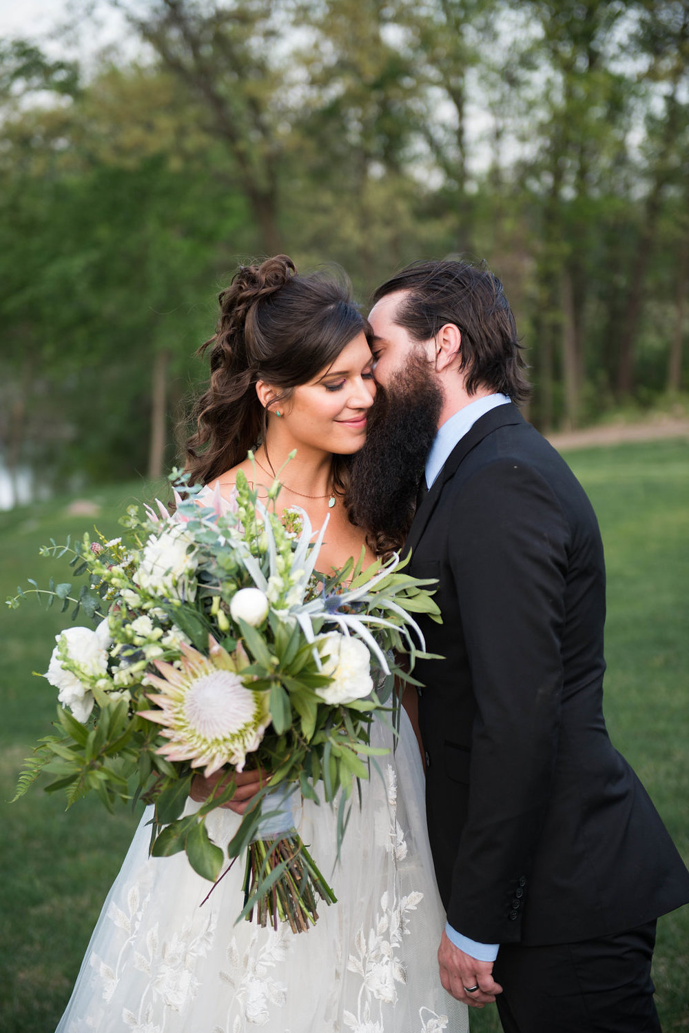 Boho Springtime Romantic Wedding Inspiration