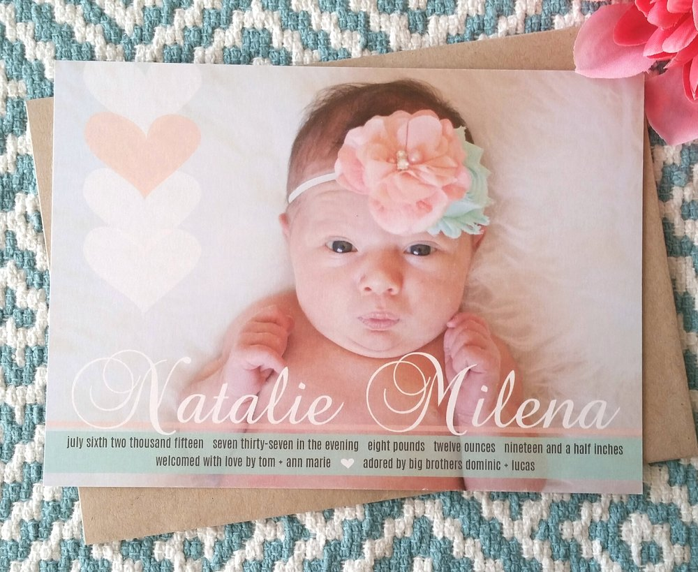 Sweet Peach Hearts Birth Announcement.jpg