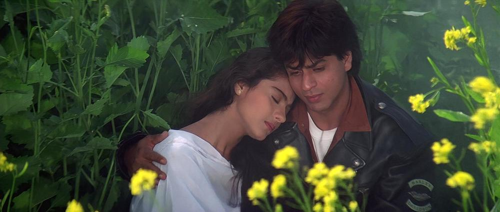 Kajol and SRK in DDLJ