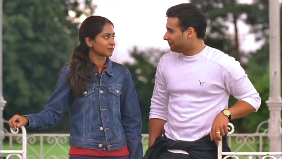 Parminder Nagra and Ameet Chana in Bend It Like Beckham (2002)