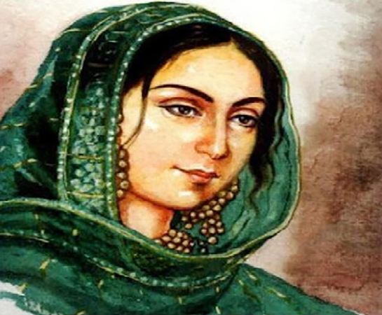 Begum Hazrat Mahal, painter unknown