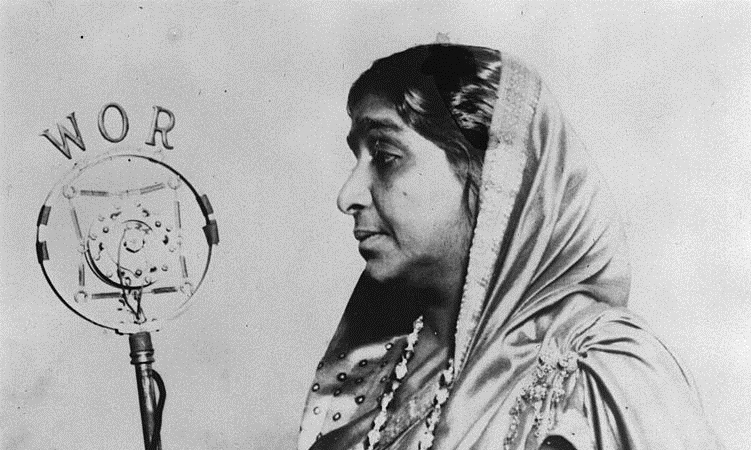 Sarojini Naidu, photographer unknown