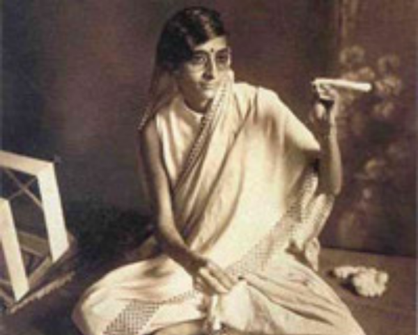 Kamala Nehru, photographer unknown