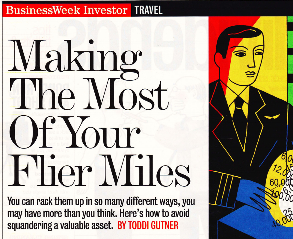 Making the most of your flier miles