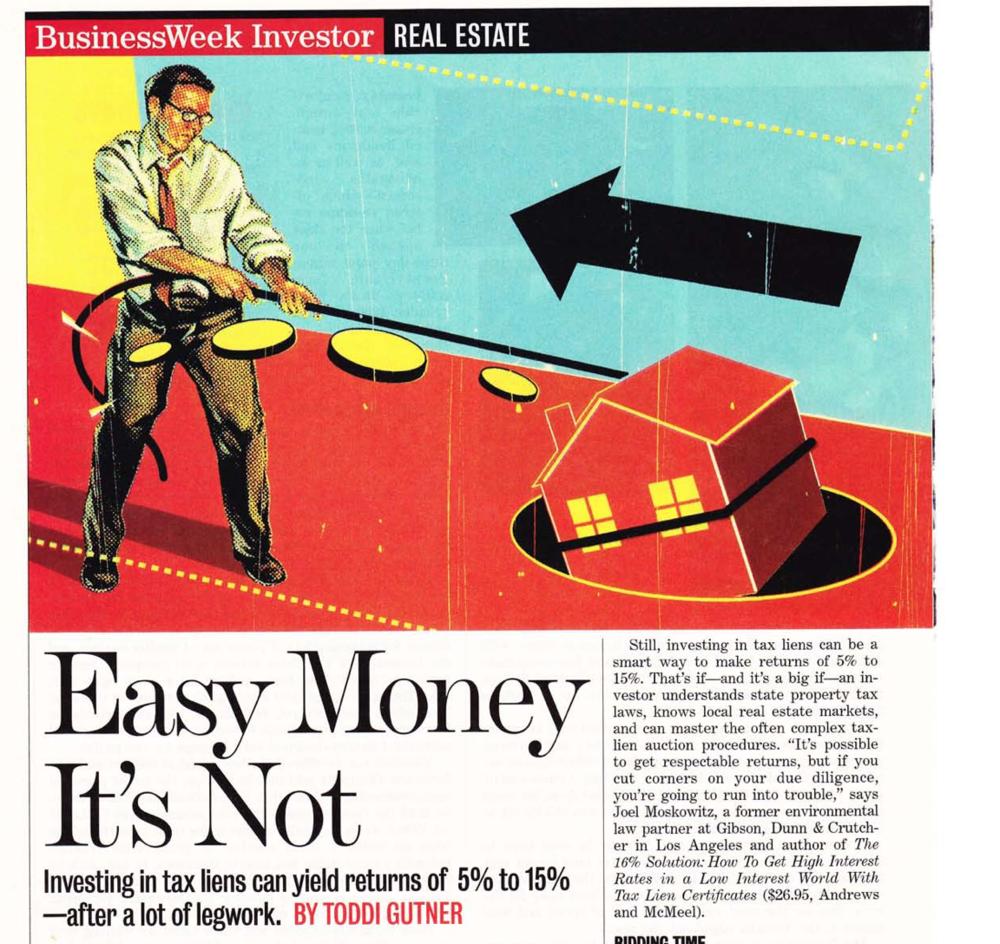 Easy Money it's not....