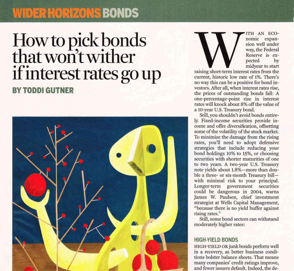 How to pick bonds that won't wither if interest rates go up