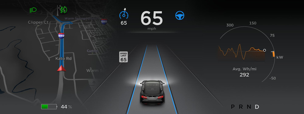 Image from Tesla's Autopilot Press Kit