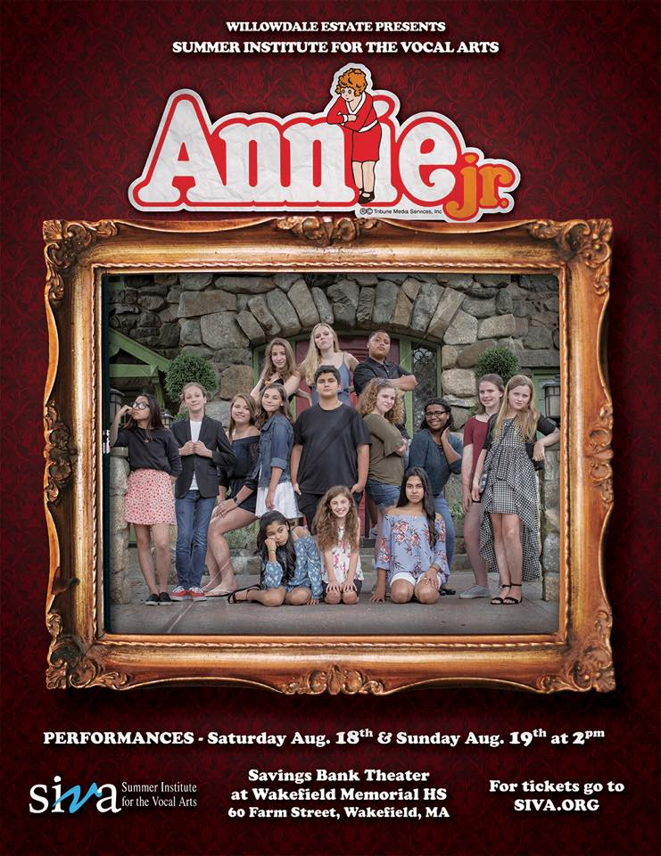 SIVA 2018 - Apprentice - Annie with music by Charles Strouse, lyrics by Martin Charnin, and book by Thomas Meehan