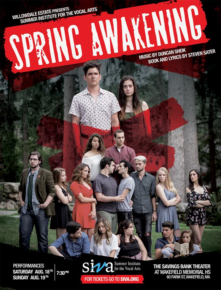 SIVA 2018 -Young Artists - Spring Awakening with music by Duncan Sheik, book and lyrics by Steven Satar
