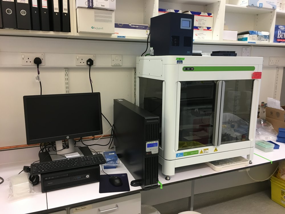 ZEPHYR G3 NGS WORKSTATION #1 FOR PRE-PCR SINGLE CELL WORK