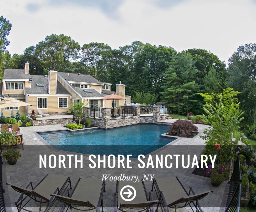 Hamptons NY custom masonry and landscape design