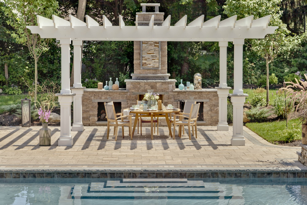 Design Tips For Creating A High End Outdoor Fireplace In Brookhaven, NY