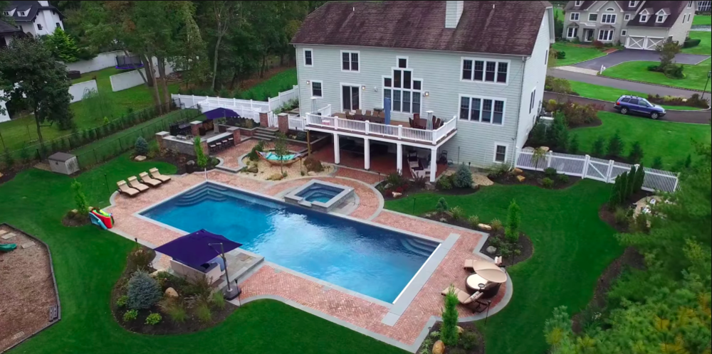 Functional landscape design in Oyster Bay NY  OUTDOOR LIVING & ENTERTAINING    view our work
