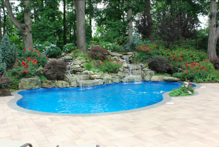 Waterfalls, Fountains, Ponds  WATER FEATURES    view our work
