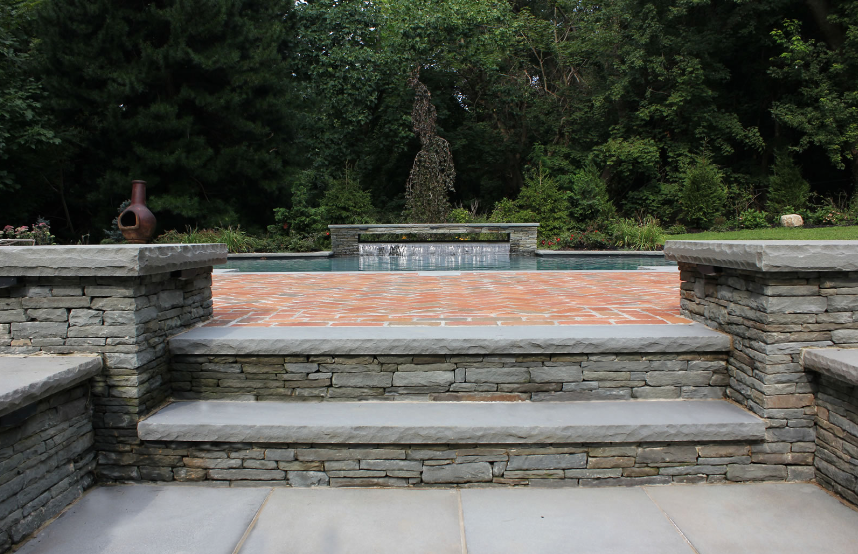 Update Your Brookville, NY, Patio With Gorgeous Masonry Stairs   The  Platinum Group