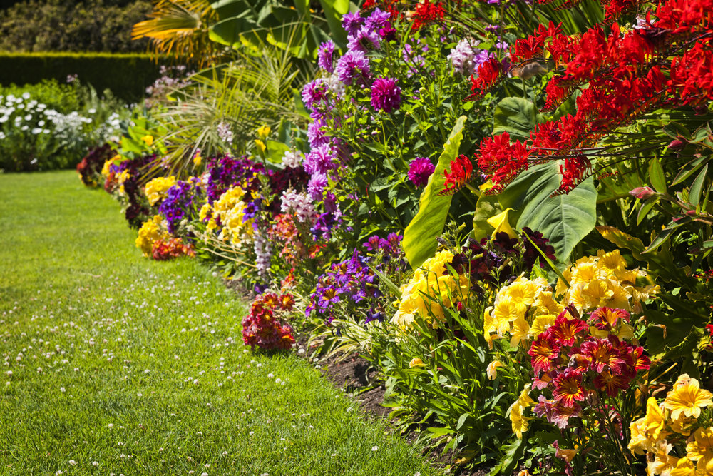 Add Color to Your Landscape Design with Flower Beds in Sag Harbor, NY