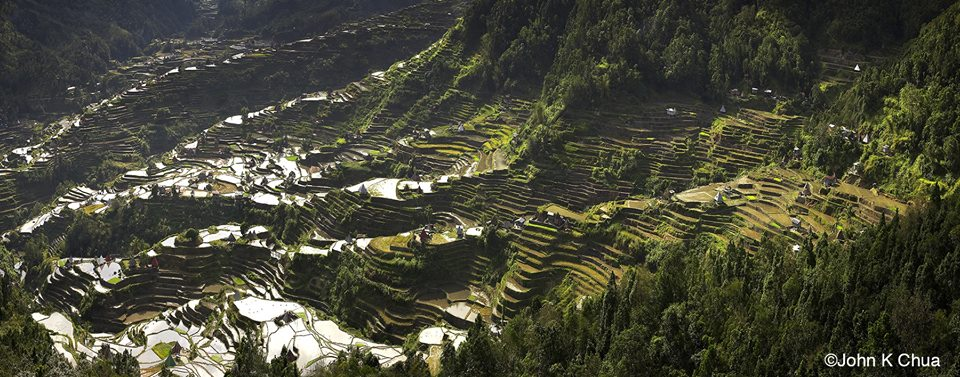 Banaue Terraces by John K. Chua