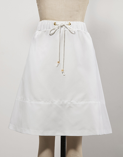 White Women's golf skirt