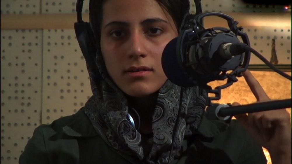 Nazila at the mic.jpg