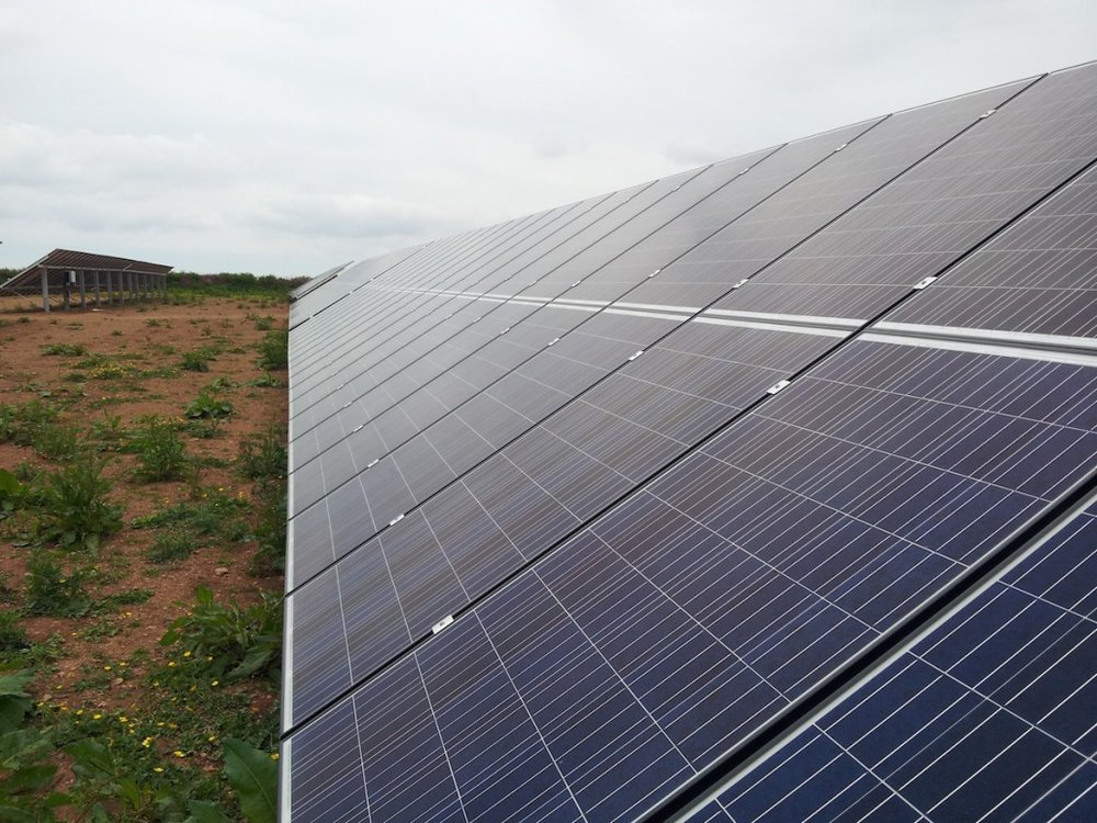 off grid domestic solar pv jcw saunders