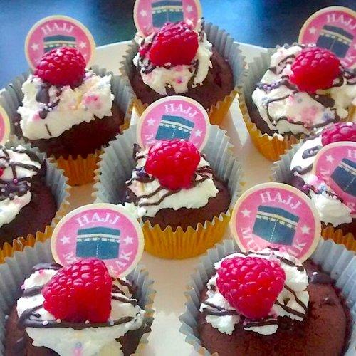 Hajj Mubarak Cupcake Toppers Djarabi Kitabs Publishing