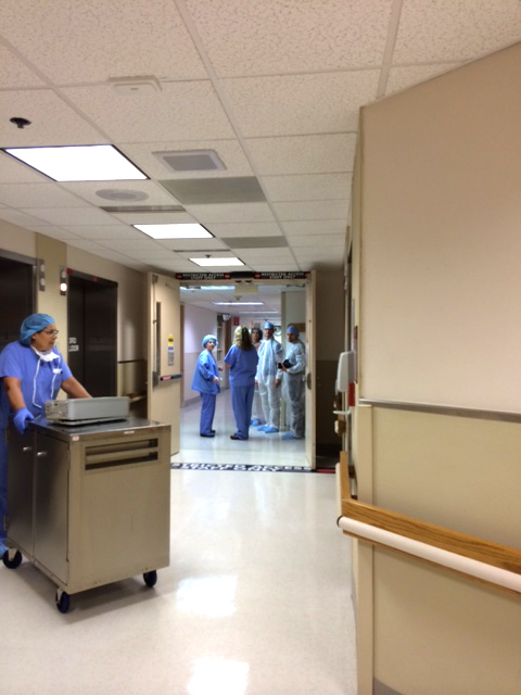 TRG on site with High Point Regional Hospital.