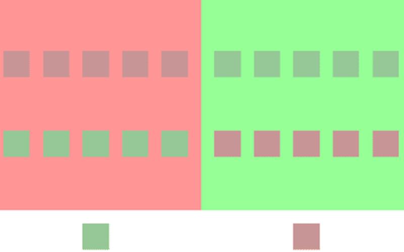 Color preceptions image.