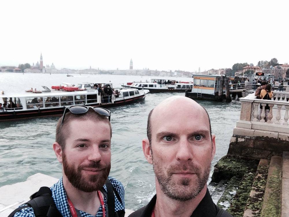 Tim Smith, TRG Photographer & Thomas Cook, TRG Senior Photographer & Department Manager