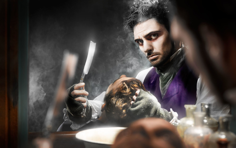 Image of Sweeney Todd for Great Lakes Theater Festival shot by TRG Reality.