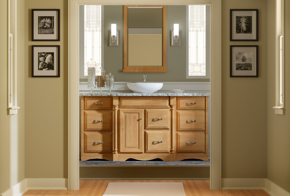 computer generated image of bathroom