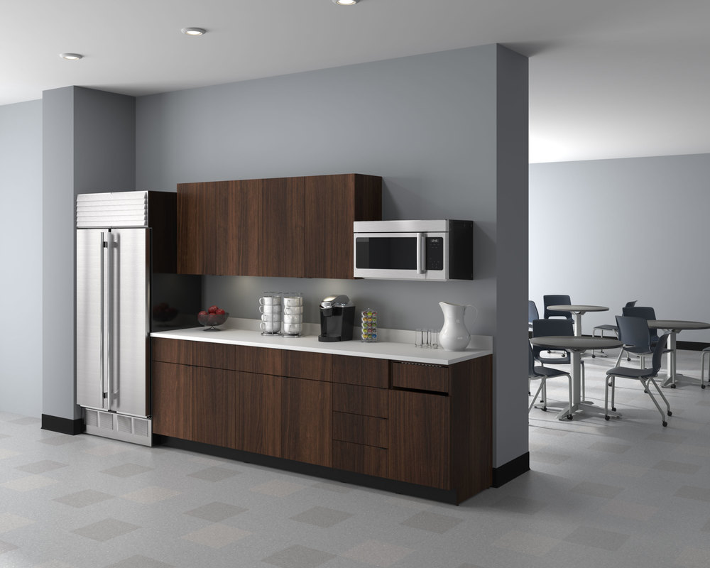 professional cgi photo of kitchen