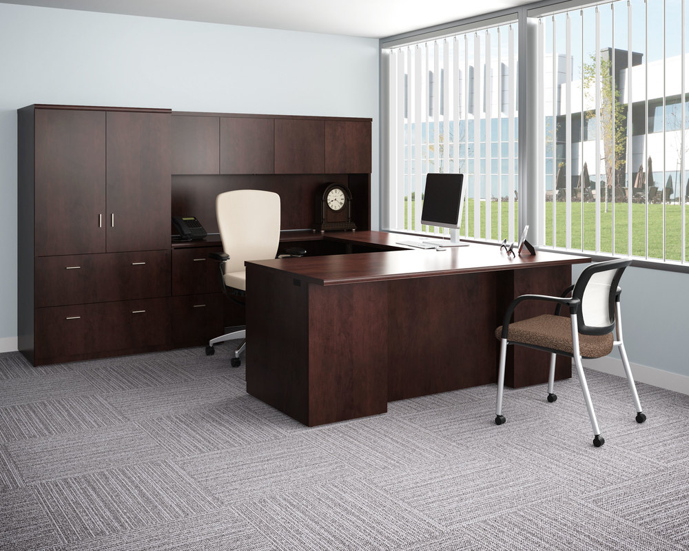 professional cgi image of office