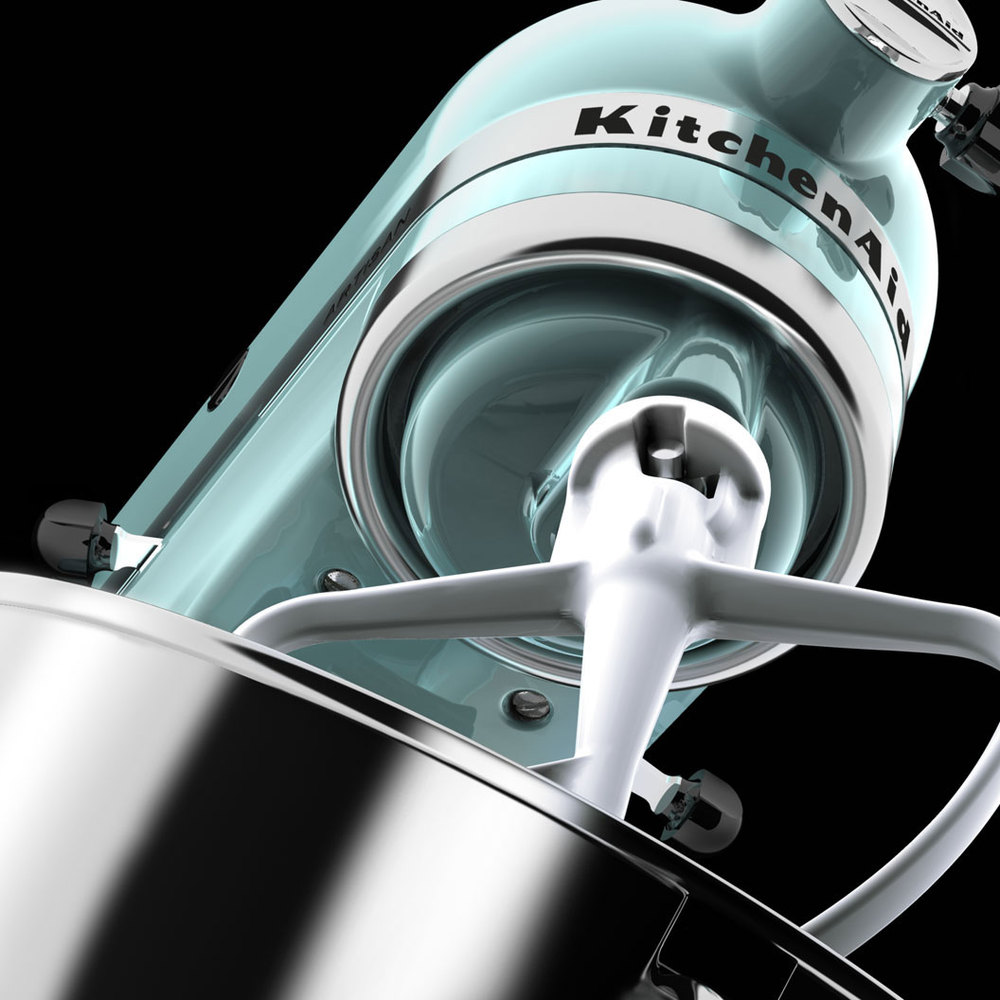 computer generated image of kitchen aid blender