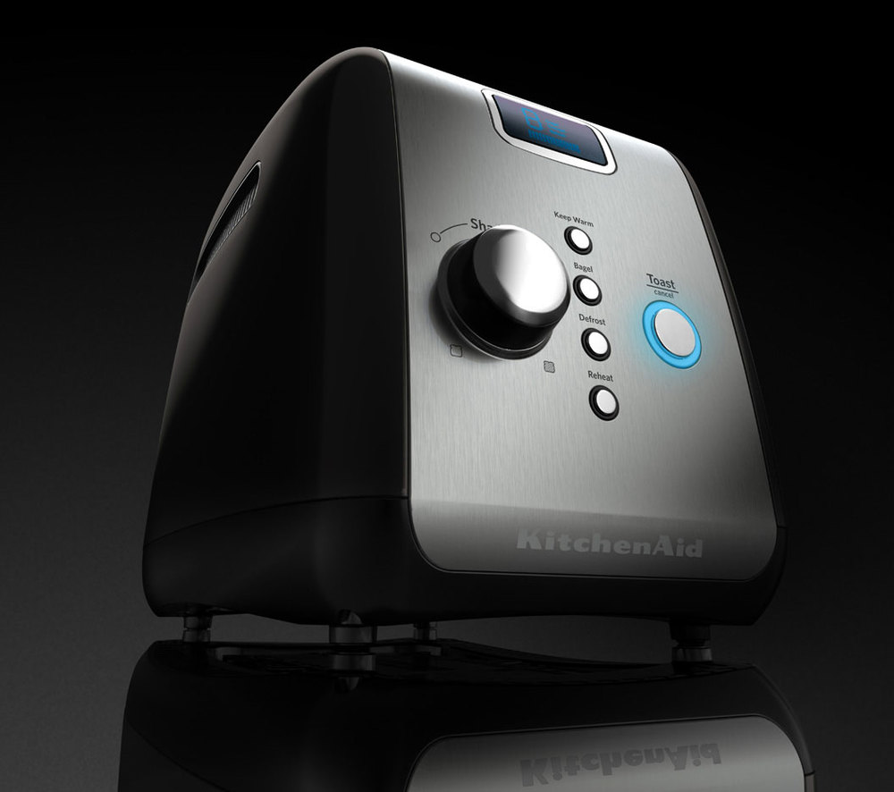 professional cgi photo of toaster