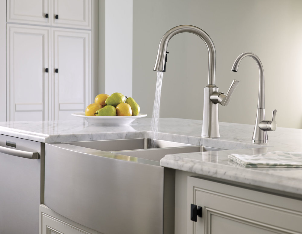 cgi photo of kitchen sink