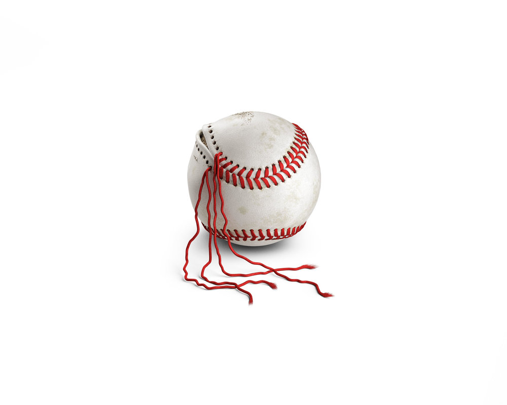 computer generated image of baseball