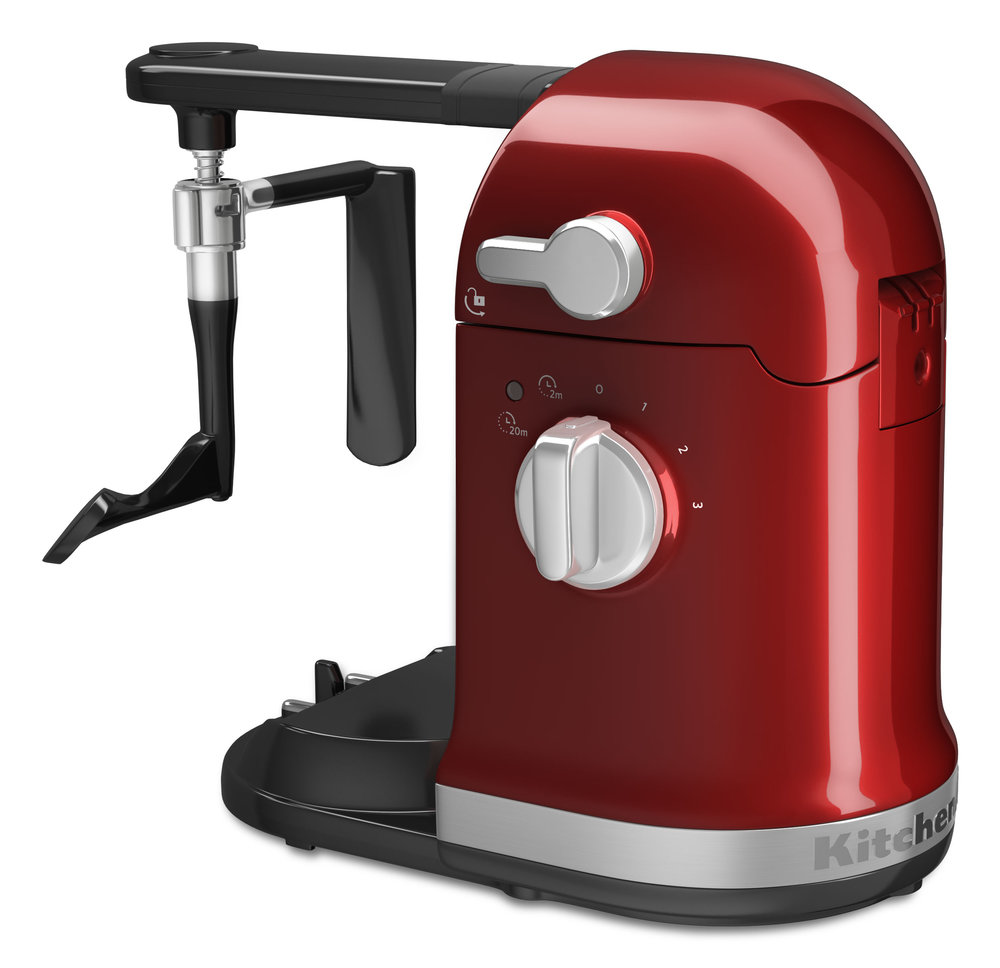 professional cgi of kitchen aid mixer