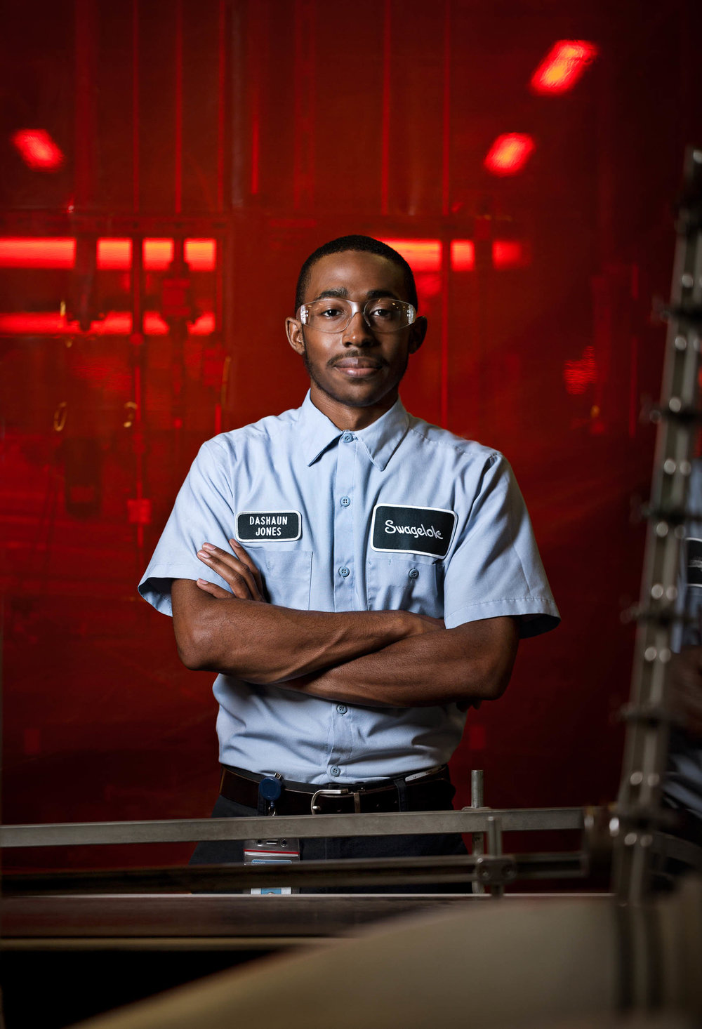 professional photograph of male industrial worker