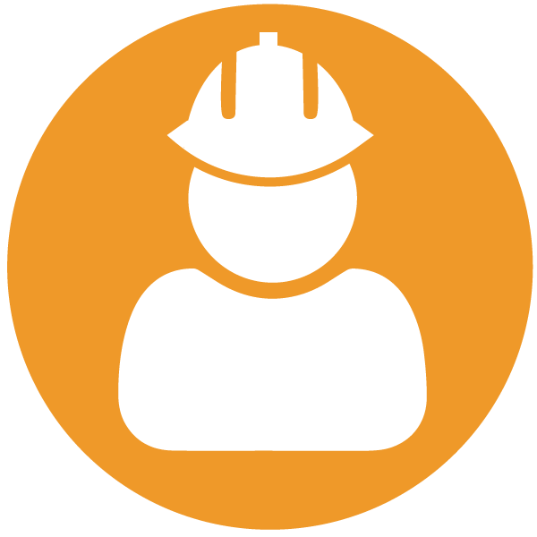 Person in Construction Hat