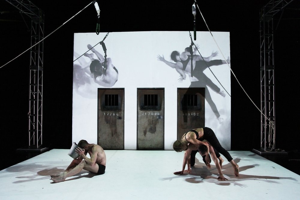 Four-Camera Livestream: Belarus Free Theatre's performance of  Burning Doors  at La MaMa in NYC.