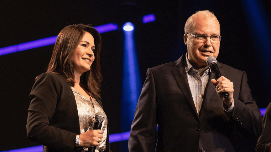 Pastors Wes & Adriana Richards - Conference hosts