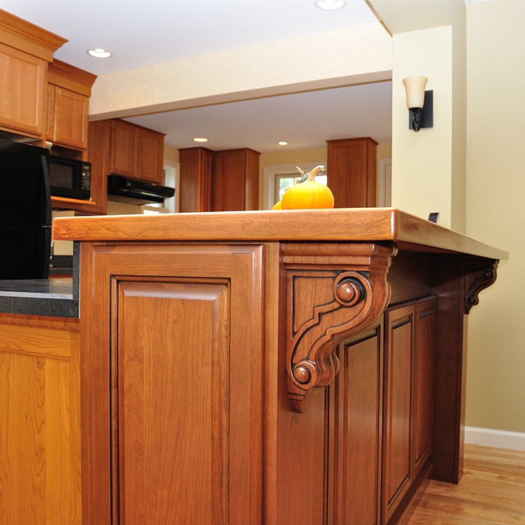 Kitchen Island With Raised Bar: Dovetail Designs By Jenny Volk