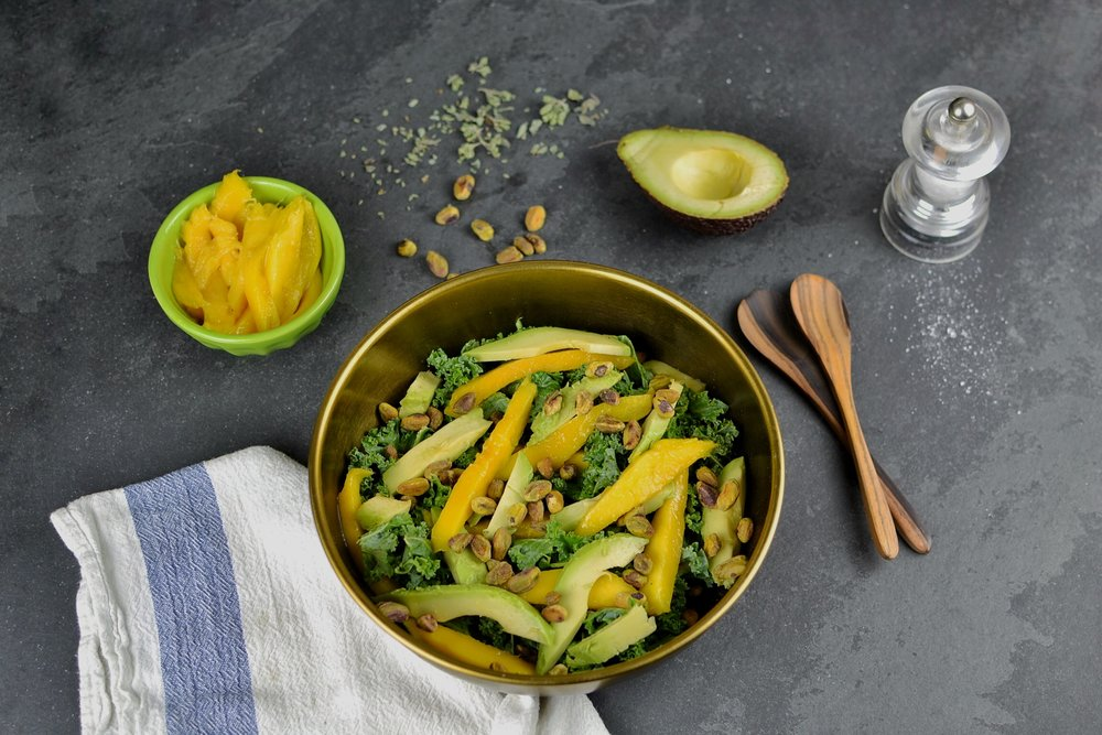 mango and avocado salad