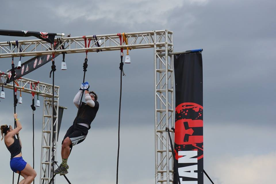 Jared has helped many of our clients prepare for the Spartan race.  Here he is showing us how to get up the rope.