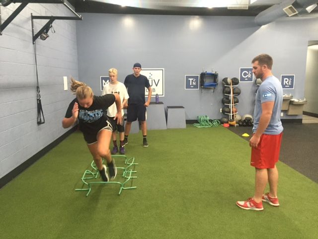 Jared also works with many of the youth athletes that train at MuvLab-DTC.