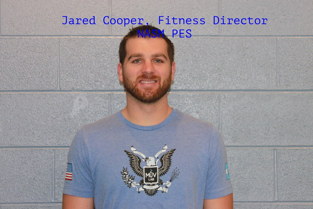 Jared Cooper MuvLab-DTC Fitness Director and Personal Trainer